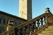Città di Castello Scalinata del Duomo e Torre Civica